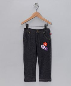 Take a look at this Denim Flower Child Jeans - Infant by Blow-Out on #zulily #fall today!