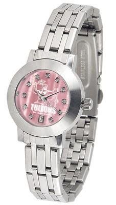 California San Diego Tritons Ladies MOP & Swarovski Crystal Watch by SunTime. $94.95. Officially Licensed UCSD Tritons Ladies MOP & Swarovski Crystal Watch. Date Display And Quartz Accurate Movement. Women. Links Make Watch Adjustable. Stainless Steel-Scratch Resistant Mineral Crystal. College ladies stainless steel watch with mother of pearl face and Swarovski crystals. Watch dial is presented in a sleek, stainless steel case and bracelet. Features date display, qua...