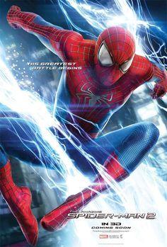 """Novos cartazes do filme """"O Espetacular Homem-Aranha 2: A Ameaça de Electro"""" http://cinemabh.com/imagens/novos-cartazes-do-filme-o-espetacular-homem-aranha-2-a-ameaca-de-electro-2"""