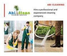 Hire a professional and experienced cleaning company. There are several commercial cleaning companies in your locality, and so choosing the right company is very important.