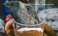 Quesadilla de Camarón #food #comida #alimentos #fishers #gourmet #mexico #delicias