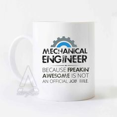 Christmas Gifts for mechanical engineers, engineer mug, engineer graduation,gift ideas for engineering students,funny engineering gift MU349 by artRuss on Etsy