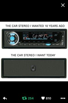 The car radio I want now