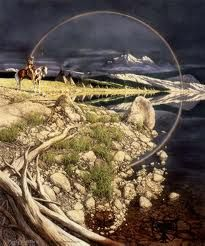 Bev Doolittle what an experiece finding anything of hers, puzzles, framed art and calendars