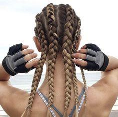 Peinado deportivo #peinados