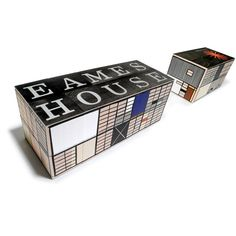 Eames House Blocks @Stephanie Woodle This reminds me of our project from first year! :)