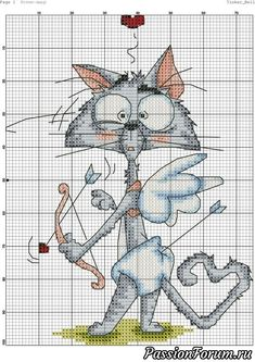 35 Peachy Cat Embroidery Patterns Ideas Grab More Peachy Cat Embroidery Patterns Ideas in my Website Gallery. Cat Cross Stitches, Funny Cross Stitch Patterns, Cute Cross Stitch, Cross Stitch Animals, Cross Stitch Charts, Cross Stitch Designs, Cross Stitching, Cross Stitch Embroidery, Embroidery Patterns