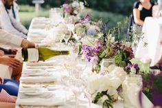 Florist: The Piccadilly Flower Company - http://www.stylemepretty.com/portfolio/the-piccadilly-flower-company Photography: Mary Sylvia Photography - http://www.stylemepretty.com/portfolio/mary-sylvia-photography   Read More on SMP: http://www.stylemepretty.com/australia-weddings/2014/07/03/romantic-backyard-wedding/