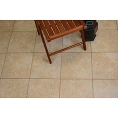 Shop Style Selections Pinot Beige Ceramic Indoor/Outdoor Floor Tile (Common: 13-in x 13-in; Actual: 12.98-in x 12.98-in) at Lowes.com