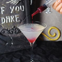 Halloween is not just for kids! I am sharing my ghoulish Vampire Cocktail recipe for my blood thirsty vampires with Dixie Crystals!