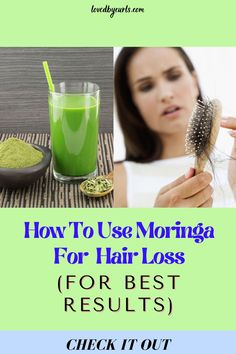 How To Use Moringa For Hair Loss (For Best Results)