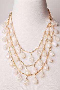 Cream & Sugar Necklace