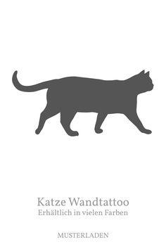 Katzen Aufkleber für Wände, Fenster, Türen, Fliesen und andere glatte Oberflächen. Vinyl Decals, Wall Decals, Wall Art, Cat Decor, Cat Wall, Cat Stickers, Decoration, Moose Art, Cats