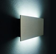 Plate LED wall mount indoor fixture ADA compliant