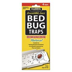 Pest Control Traps - Harris Bed Bug Traps 4Pack >>> You can get more details by clicking on the image. (This is an Amazon affiliate link)