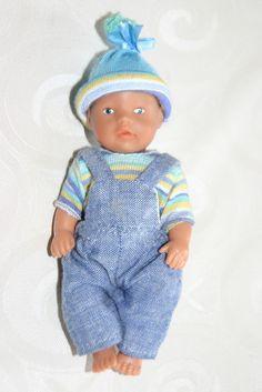 Orig. Miniworld Mini Baby Born Bekleidung mit Puppe