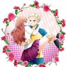 goenji and natsumi (inazuma eleven)