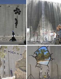 Banksy on the wall