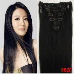Hair Extension,Human Hair,Brazilian Virgin Hair,Silky Straight Hair,