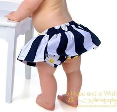 Baby Skirt Pattern with built in diaper cover  PDF by tiedyediva, $8.00