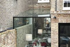 Browse images of modern Conservatory designs: Side Return Frameless Glass Extension. Find the best photos for ideas & inspiration to create your perfect home. Modern Conservatory, Conservatory Extension, Glass Conservatory, Terrace Roof, Patio Roof, Pergola Patio, Pergola Kits, Pergola Shade, Pergola Ideas