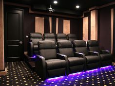 Seatcraft Sienna Home Theater Seats