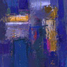 ESCALADA (2016).- Pintura de Luis Ángel Barquín (Painting by © Luis Ángel Barquín); Copyright (Derechos de autor, derechos reservados) - Obra digital creada por ordenador con tableta gráfica y lápiz óptico (Digital artwork created by computer graphics tablet and stylus pen)