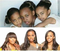 China Anne McClain, Lauryn Alisa McClain and Sierra Aylina McClain My Black Is Beautiful, Beautiful Family, Black Love, Beautiful People, Beautiful Moments, Beautiful Ladies, African Beauty, African Women, Black Girls Rock