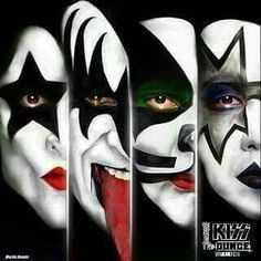 Kiss - Masters of Rock Rock Posters, Band Posters, Concert Posters, 80s Rock Bands, Rock And Roll Bands, Kiss Rock, Banda Kiss, Kiss World, Kiss Band