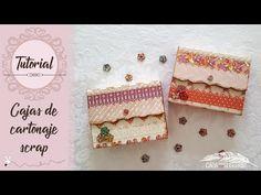 ¡MONISIMAS! Cajitas de cartonaje muy fáciles de hacer - YouTube Origami And Quilling, Diy And Crafts, Paper Crafts, Gift Envelope, Scrapbooking, Scrapbook Sketches, Decoupage, Craft Videos, Craft Gifts