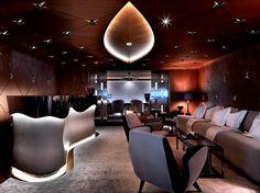 Interiors - Luxury Numptia Super Yacht | Living Room Ideas, Interior Design, Home Design, House Design