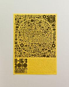 Flow Festival 2010 Past Life, Flow, Identity, Festivals, Poster, Events, Art, Art Background, Kunst