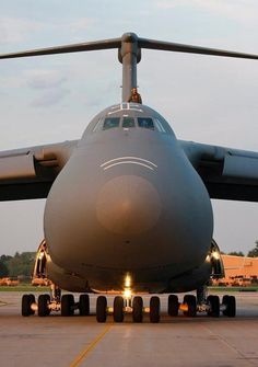 Lockheed C-5 Galaxy........one HUGE bird!!!! First time i saw one take off I thought it would drop out of the sky