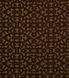 Robert Allen @ Home Upholstery Fabric-Tuscan Scroll Cayenne