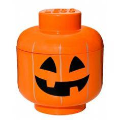 Tête de rangement Halloween - Lego