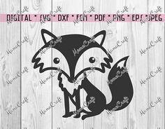 SVG WOODLAND cute FOX scandinavian digital vector by MamaCraft4You