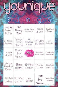 Younique Bingo