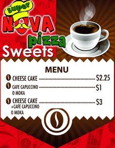 En #SúperNovaPizza Las Acacias, disfruta de unos postrecitos con tu #Nescafé favorito. 2273-1111, 2273-2000