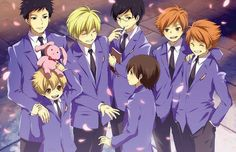 Ouran High School Host Club Art
