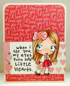 Little hearts...The Greeting Farm