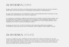 The RH Design Ethos and The RH Design Atelier