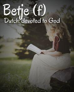 Dutch Names, God, Dios, Allah, The Lord