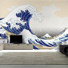 Vinyl Wall Decal Japanese Warriors Samurai Gate Asian Art Decor