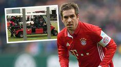 Bayern-Schreck! - Lahm bricht Training ab