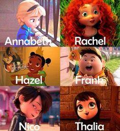 Disney = Rick Riordan
