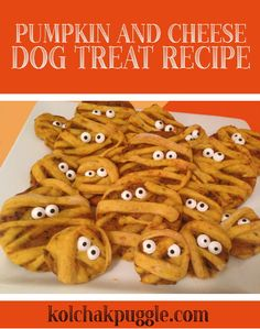 Why should people treats have all the fun? This is one of our favourite dog treat recipes this year - they're cute, silly and most of all tasty - or at least that's what the dogs tell me.