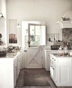 Love love love the Dutch door