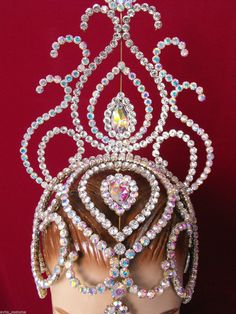 Corona de la Tiara tocado Ballet arrastre concurso de belleza