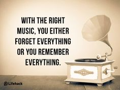 Agree, that music heals too.