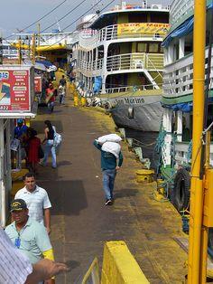 The colors of Manaus by lucasgalodoido - Port of Manaus, Amazonas, Brazil.